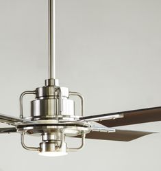 Peregrine Industrial LED Ceiling Fan Peregrine Industrial LED 4-Blade Ceiling Fan  Available in Four Body and Blade Finish Combinations.  An original Rejuvenation design