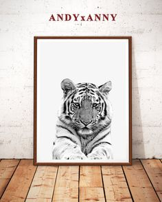 US$5.85 Tiger Print, Tiger Art Print, Animal Safari, Animals Print, Safari Nursery, Tiger Photo, Black and White, Tiger Wall Art, Tiger Printable Tiger Print Tiger Art Print Animal Safari Animals by ANDYxANNY