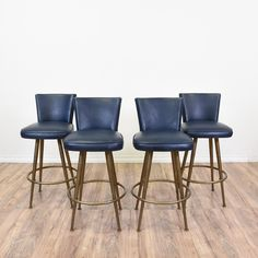 Something like these in black would be great for the barstools at the island.