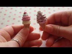 how to: miniature ice cream cones
