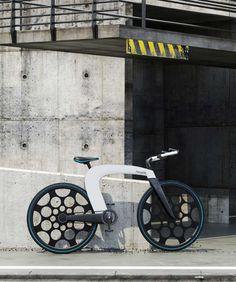 ➰3D. (I) 3D Printed Folding bike #3d #printing