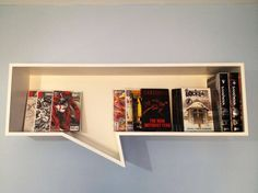 Comic book shelf: brincatmark over at r/comicbooks on Reddit built this.  Reminds me that I need to catch up on Locke & Key.