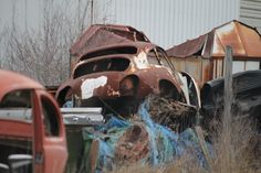 356 Rust In Peace, Abandoned Cars, Porsche 356, Barn Finds, Dream Cars, Antique Cars, Sick, Junk Yard, Restore