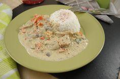 Weißes Korma aus Pakistan. Asiatische Küche vegan genießen... http://www.umgekocht.de/2016/04/pakistanisches-weisses-korma-veganisiert/