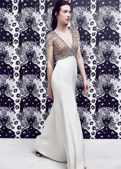 Jenny Packham Pre: S/S 2017: Glamorous holiday gown!
