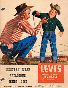 What a great vintage Levi's sign, cute in a boy's bedroom or man cave or ?