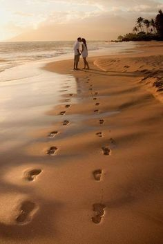 beach walk Great idea for your Angela Clifton Photography beach wedding!