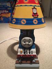 Thomas Tank Engine Train Fabric Lampshade Desk Table Handmade Lamp Shade