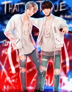 Read from the story 《YoonMin Fanarts》 by Its-KimTaeHyung- (. Yoonmin Fanart, Jimin Fanart, Kpop Fanart, Namjin, Bts Bangtan Boy, Bts Jimin, K Pop, Min Yoonji, Jin Kim