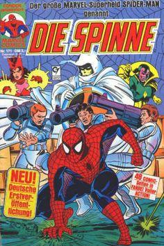 Germany: Die Spinne #171 NM, 1989, $20