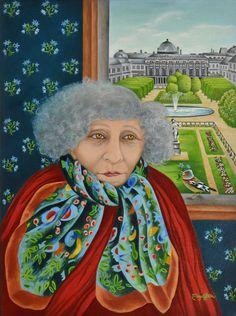Maya Starr Le Palais Royale de Colette 30 x 40 cm