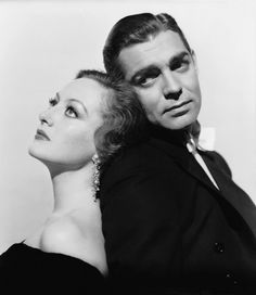 Joan Crawford and Clark Gable