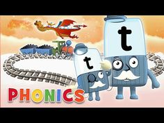 Phonics - Journey Through the Alphabet! | Learn to Read | Alphablocks - YouTube Phonics Sounds, Letter T, Learn To Read, Bbc, Back To School, Alphabet, Journey, English, Learning