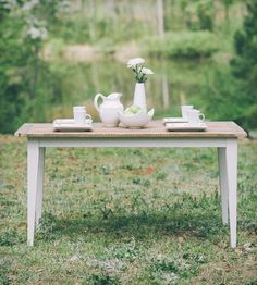 Hattie Reclaimed Hickory Dining Table by Lamon Luther on Scoutmob Shoppe