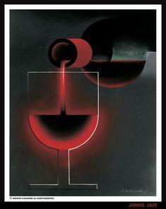 vin Nicolas - Version Face - illustration de Cassandre - 1935