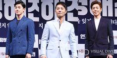 """영화 '연평해전' 김무열·진구·이현우, """"더 많은 사람들이 기억해주길"""" [포토뉴스] #Battle of Yeon-pyeong / #Photo ⓒ 비주얼다이브 무단 복사·전재·재배포 금지"""