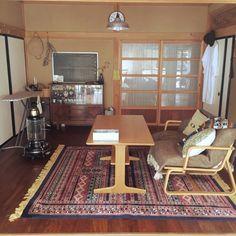 PEさんの、リビング,無印良品,IKEA,古道具,ドライ,骨董市,George's,リノベ,niko and… ,松野屋,SABI,築40年,和風住宅,のお部屋写真