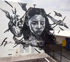 Street Art by Paola Delfin, located in Miami, Florida