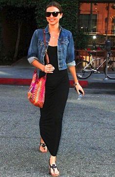 Miranda Kerr Style - Mode U - School Outfits Fashion Mode, Look Fashion, Teen Fashion, Fashion Outfits, Winter Fashion, Dress Fashion, Spring Fashion, Fashion Black, Fashion Clothes