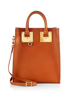 Sophie Hulme Mini Structured Tote