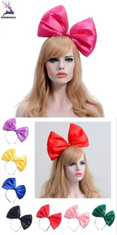 Delicious 4colors Thin Chiffon Striped Girl Hairband Soft Material Hair Bow Pearl Headband Women Hair Accessories Bow Knot Elegant Bands High Standard In Quality And Hygiene Girl's Accessories Girl's Hair Accessories