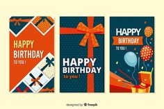 Gift Vectors, Photos and PSD files Creative Flyer Design, Creative Flyers, Banners, Design Plano, Gift Vector, Kids Birthday Cards, Flat Design, Displaying Collections, Printable Paper