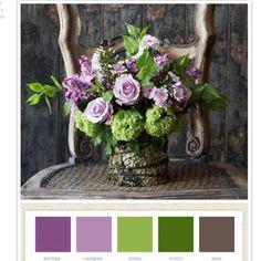 flower vase palette
