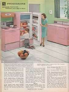 pink appliances for kitchen -