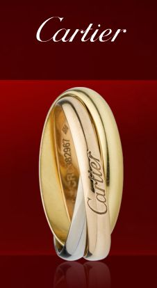Cartier Infinity ring