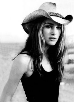 63b6c26e1d7 Keira Knightley    simple    cowgirl hat Black Cowboy Hat