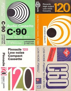 cassette package labels