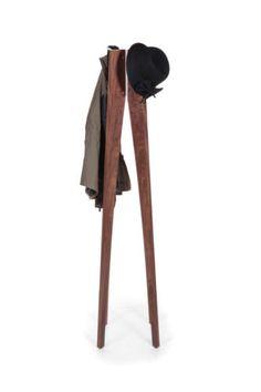 STIL FURNITURE MID CENTURY INSPIRED DESIGN IN WALNUT ABODE COAT STAND