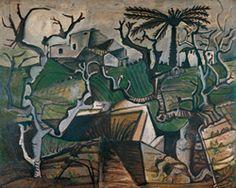 Pablo Picasso,  Winter Landscape