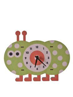 Modern Moose - Caterpillar Clock |