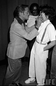 Sammy Davis and Janet Jackson being adorable