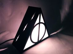 Harry Potter Deathly Hallows Lamp by Plasmatorium on Etsy