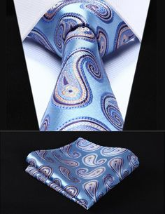 Cheap handkerchief set, Buy Quality mens ties directly from China square tie Suppliers: Party Wedding Classic Pocket Square Tie Blue Orange Paisley Silk Woven Men Tie Necktie Handkerchief Set Man Weave, Wedding Ties, Party Wedding, Suit Accessories, Fashion Accessories, Textiles, Tie And Pocket Square, Pocket Squares, Men Accessories