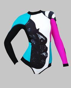 Купальник LISA с рукавами для серфинга