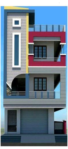 House Balcony Design, House Outer Design, House Arch Design, 3 Storey House Design, Modern Small House Design, House Outside Design, Modern Exterior House Designs, Village House Design, Home Building Design