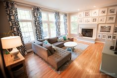 Open Living Room With Second Floor Exposed
