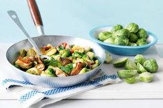 Good things do come in small packages - cooked right, brussels sprouts are one of the tastiest vegies. They're tops in this fast stir-fry.