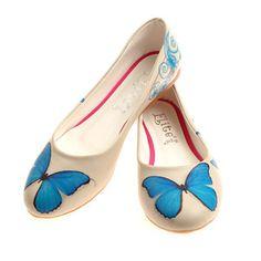 Ballerinas Butterfly Kunstleder, 39€, jetzt auf Fab.
