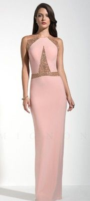 Beautiful Beaded Pink Gown