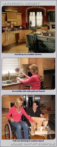 """Handicapable"" Accessible Kitchens"
