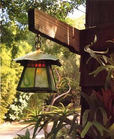Lantern - Genuine Craftsman Style Cir 1908 - CRFT9191