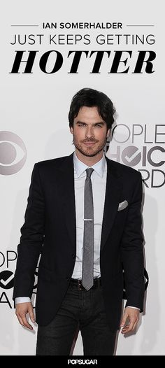 Ian Somerhalder Keeps Getting Hotter, and We Have Proof