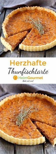 Dieses Rezept für Thunfischtarte lässt sich super schnell und einfach zubereiten, ist aber auf jeden Fall auch etwas für die Feinschmecker unter uns.