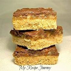 Pecan Turtle Bars...dangerously delicious!