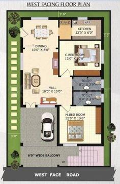 27*45 house plan India