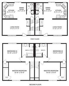 Planos-de-casa-duplex-de-dos-niveles22.gif (495×618)
